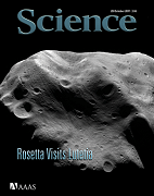 Science 2011/10/28 cover
