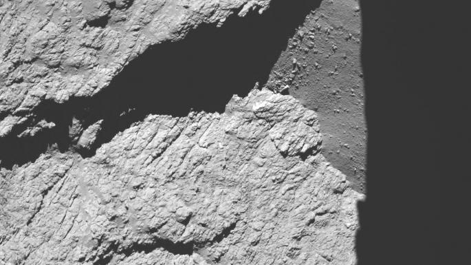 Image de la sonde Rosetta à 11,7km de la comète Tchoury