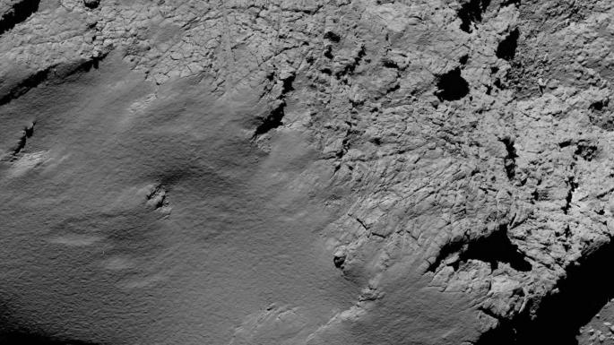 Image de la sonde Rosetta à 5,8km de la comète Tchoury