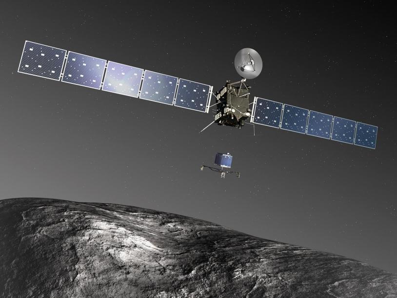 La sonde Rosetta et de l'atterrisseur Philae