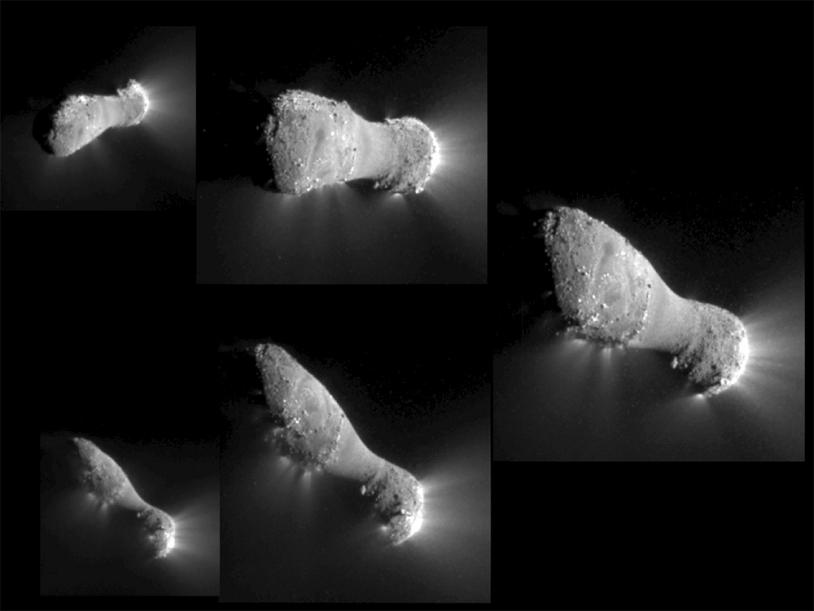 Le noyau de la comète 103P Hartley.