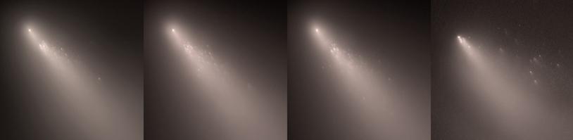 La comète 73P Schwassmann-Wachmann 3 s'est fragmentée en avril 2006.